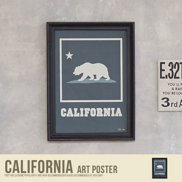 �y���������zCalifornia Art Poster