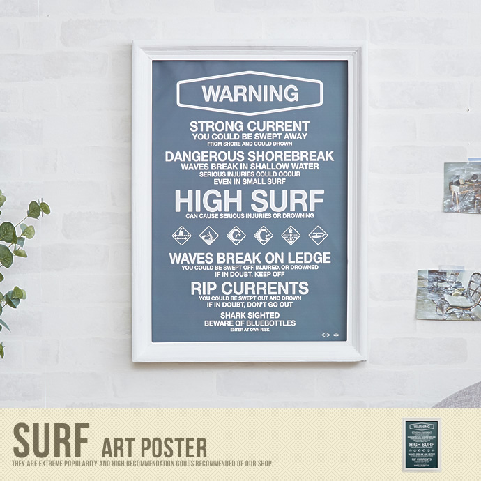 �y���������zSurf Art Poster