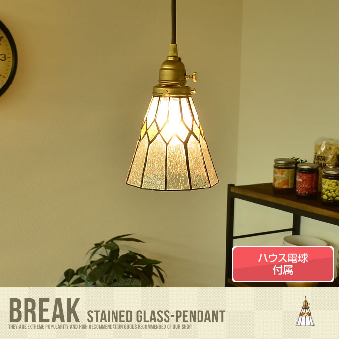 �y���������zStained glass-pendant Break