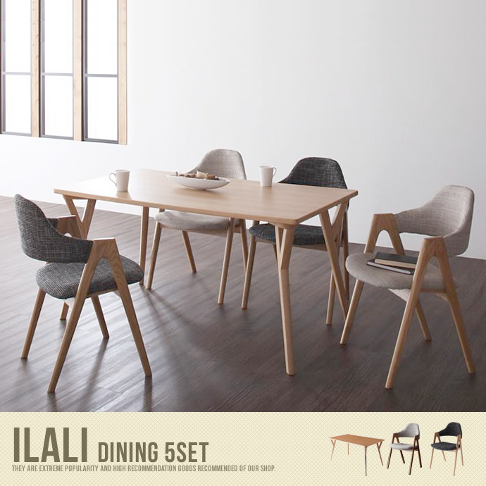 �y���������zILALI Dining 5set