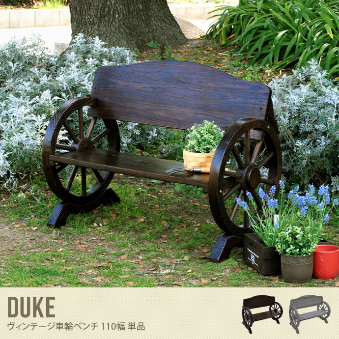 【送料無料】Duke Wheel Bench 110